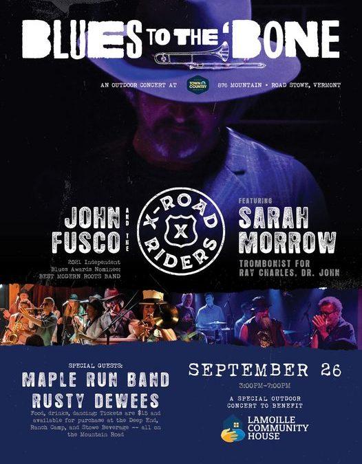Blues to the Bone-Sept.26!
